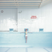 Maria Svarbova, Pool without water, cross (2016)