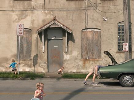 Julie Blackmon, Loading Zone (2009)