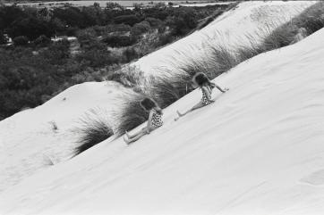 Dasha Glukhova, Sand slippery dip, 2017