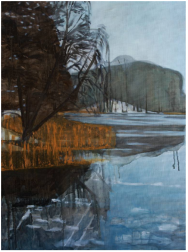 Mykolė Ganusauskaitė, Lakeside – Winter 1., 2016