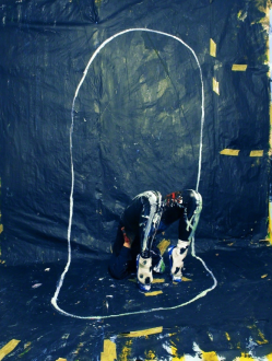 Isabelle Wenzel, Painting 5.1, 2016