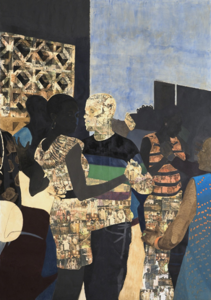 Njideka Akunyili Crosby, I Refuse to be Invisible, 2010
