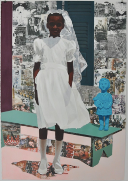 Njideka Akunyili Crosby, The Beautiful Ones, 2015