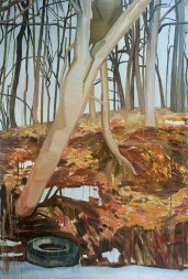 Mykolė Ganusauskaitė, Orange Landscape (1/3), 2013