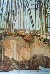 Mykolė Ganusauskaitė, Orange Landscape (2/3), 2013