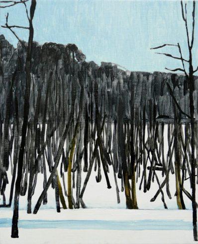 Mykolė Ganusauskaitė, Trees 3/4, 2013