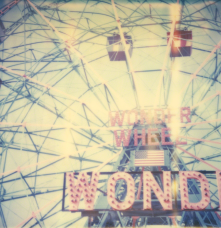 Wonder Wheel from the movie Stay based on a Polaroid, 2006