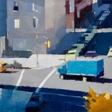 Lisa Breslow - Blue Truck