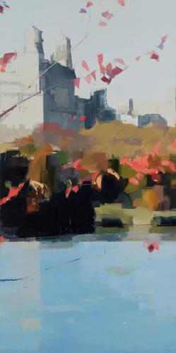 Lisa Breslow - Red Leaves