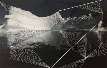 """Series """"Threaded Icebergs"""""""