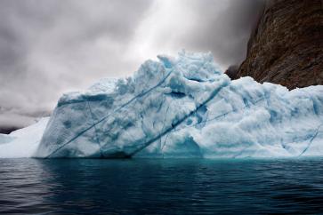 Bergy Bits Jammed Up in Errera Channel, Antarctic Peninsula (2007)