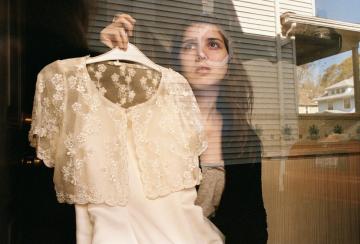 4621 Neighborhood (Amanda and Her Flower Girl Dress), Rochester, New York (2012)